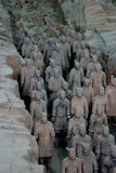 Terracotta army. In Xian, China royalty free stock photos