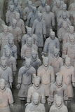 The Terracotta Army of Xian Stock Photos