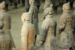 Terracotta Army Xian China stock image
