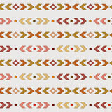 Terracotta  boho pattern. Tribal seamless background. Geometric Wallpaper. Royalty Free Stock Photo