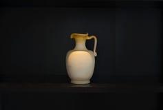 Terracotta caraffe earthenware Royalty Free Stock Photography