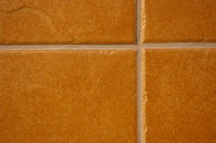 Terracotta ceramic tiles Stock Photo