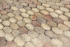 Terracotta che pavimenta mattonelle Immagini Stock Libere da Diritti