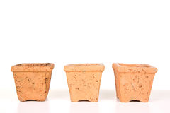 Terracotta or clay gardening pots Royalty Free Stock Photo