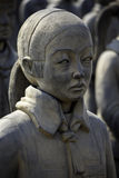 Terracotta Daughters in the  Diego Rivera Anahuacalli Museum 1 Royalty Free Stock Photography