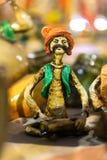 Terracotta doll, Indian handicrafts fair at Kolkata Royalty Free Stock Photo