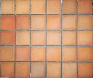 Terracotta floor tiles Royalty Free Stock Photography