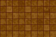 Terracotta floor tiles Stock Photography