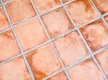 Terracotta flooring Royalty Free Stock Image