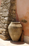 Terracotta jar Royalty Free Stock Image
