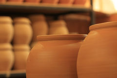 Terracotta Jar Stock Photo
