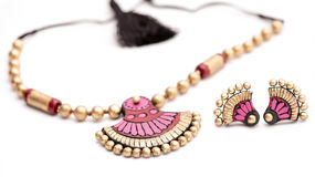 Terracotta Jewelry Stock Images