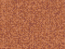 Terracotta Mosaïc Tiles Stock Photo