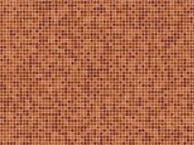Terracotta Mosaïc Tiles Stock Photo
