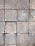 Terracotta patio pavers Stock Photography