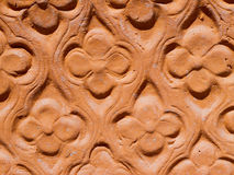Terracotta pattern Stock Photography