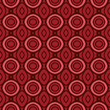 Terracotta pattern with rounds. Vector seamless pattern.  You can use it for packaging design, textile design and scrapbooking Stock Photos