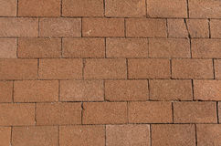 Terracotta paving slabs Royalty Free Stock Photo