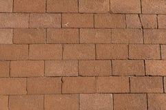 Terracotta paving slabs Royalty Free Stock Photo