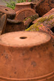Terracotta planters Royalty Free Stock Photography