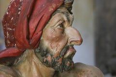 Terracotta portraits in Sacro Monte di Varallo Stock Image