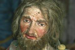 Terracotta portraits in Sacro Monte di Varallo Stock Images