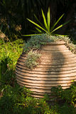 Terracotta pot Stock Images
