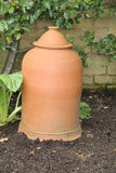 Terracotta Pot. Royalty Free Stock Photo