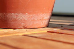 Terracotta pot Stock Photography