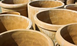 Terracotta pots Royalty Free Stock Image