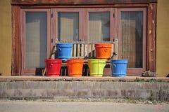 Terracotta pots Royalty Free Stock Photos