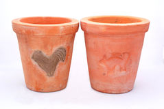 Terracotta pots Stock Photography