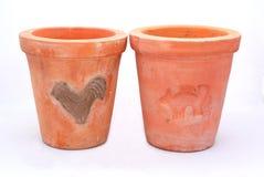 Terracotta pots Stock Photography
