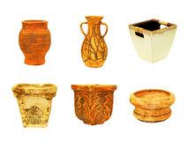 Terracotta pots Royalty Free Stock Photo