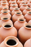Terracotta pots, Indian handicrafts fair at Kolkata Royalty Free Stock Photos