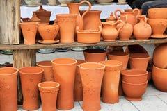 Terracotta pottery Royalty Free Stock Photo