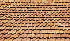 Terracotta roof Stock Images