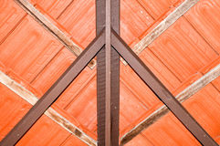 Terracotta Roof Abstract Stock Photo