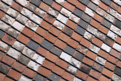 Terracotta roof tiles Royalty Free Stock Photos