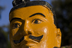 Terracotta soldier. Images of ancient terracotta soldiers Royalty Free Stock Photography