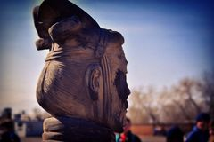 Terracotta soldier Royalty Free Stock Photo