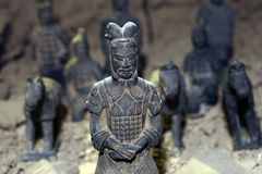 Terracotta soldiers Royalty Free Stock Photos