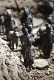 Terracotta soldiers Royalty Free Stock Images