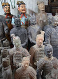 Terracotta soldiers Stock Photos