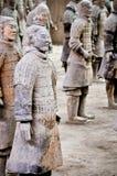 Terracotta soldiers, Xian Stock Photo