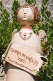 Terracotta statue. Stock Image