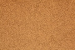 Terracotta stucco wall. Background. Stock Image