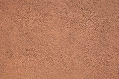 Terracotta stucco wall Stock Photography