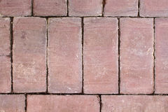 Terracotta tile surface with patina Royalty Free Stock Image