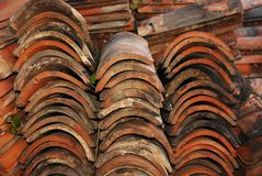 Terracotta Tiles Royalty Free Stock Image